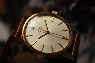 Zentra Savoy Herrenarmbanduhr Handaufzug Hamilton 60 Kaliber Bild