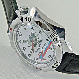 Vostok Komandirskie Ungetragen Russische Uhren Slava Raketa Poljot Bild