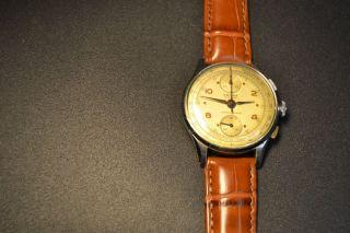 Älterer Schaltrad - Chronograph Von Orfina In Klasse Erhaltung Bild
