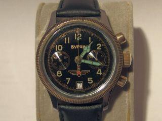 Buran Chronograph (poljot Fliegerchronograph) Bild