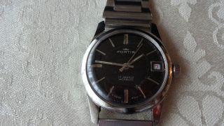 Fortis Handaufzug,  Uhrwerkskal.  Fhf 96 - 4 Bild