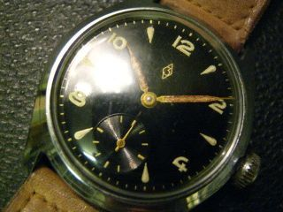 Armbanduhr Zentra Flieger Kl.  Sekunde Bild