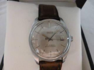 Osco Antimagnetic 17 Jewels Herrenuhr,  Aus Meiner Uhren Sammlung Bild