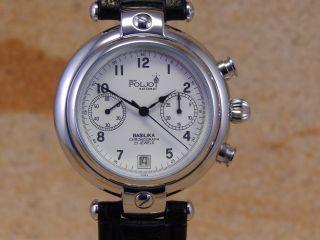 Poljot Handaufzug Chronograph Herren Armbanduhr 23 Juwels W101 Bild