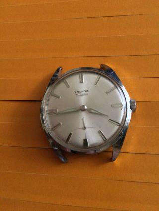 Klassische Dugena Troupier Herrenarmbanduhr Handaufzug,  Werk - Kal.  : 838 Bild