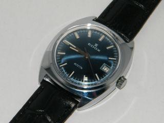 Edox Alfetta Armbanduhr,  Wristwatch,  Nos,  Uhren,  Ungetragen,  Rare,  Montre Bild