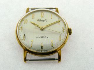 Sehr Schöne Kienzle Armbanduhr Kal.  071/17,  Kaum Getragen Bild