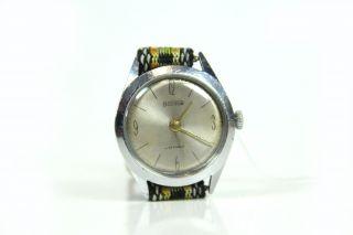Wostok 22 Jewels Herren - Armbanduhr Vintage Mechanisch Herrenuhr Udssr Uhr Textil Bild