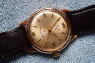 Herren Armbanduhr,  Gub,  Glashütte,  Güteuhr 70.  1,  Q1.  Handaufzug,  Vintage Ddr. Bild