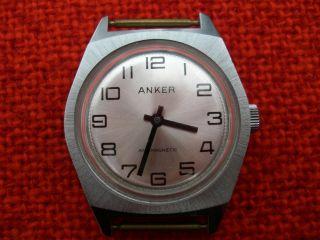 Herren Armbanduhr Anker Antimagnetic,  Handaufzug Bild