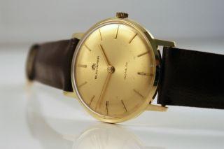 Bucherer Incabloc 14k Massiv Gold Uhr/watch Eta Cal.  320 Handaufzug Bild