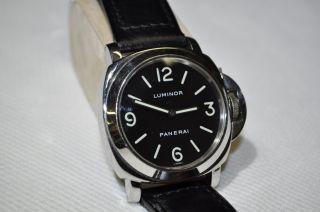 Panerai Luminor Base Pam 00002 Limitiert Bild