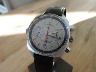 Poljot Aviator Chronograph Rarität P3133 Valjoux 7734 Fliegerchronograph Top Bild