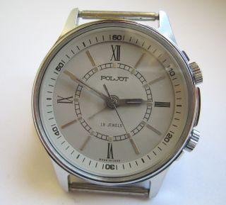 Poljot Alarm Watch Ussr Armbanduhr Wecker Bild