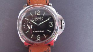 Panerai Luminor Marina Handaufzug Top Bild