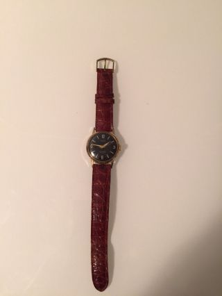 Vw 100000 Km Porta 17 Jewels Herren Uhr Handaufzug Vintage Sehr Selten Bild