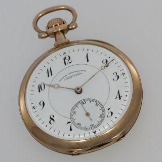 A.  Lange & SÖhne GlashÜtte Gold Taschenuhr Lepine Bild