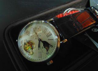 Constantin Weisz Armbanduhr Handaufzugswerk Saphirglas Tag - /nachtanzeige Qvc Bild