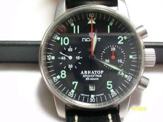 Aviator 1 Von Poljot Mit Kaliber 3133 Bild