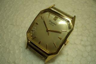 Dugena Festa Alte Herren Armbanduhr 60 ' Er Jahre Kal.  Eta 2370 Gebr. Bild