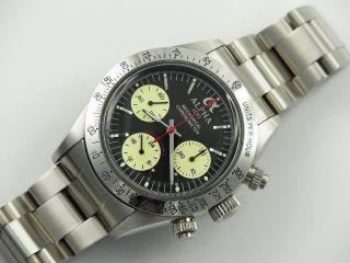 Alpha Dayton Paul Newman Handaufzug Chronograph St19 Marina Militare Parnis 04 Bild