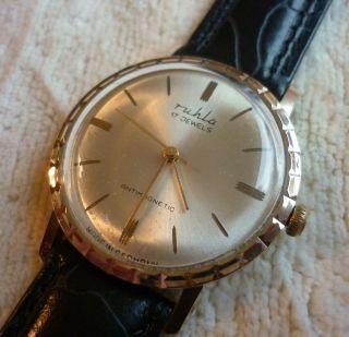 Ruhla Herren Armbanduhr Mechanisch - Selten - Bild