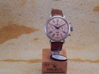 Poljot Handaufzug /15 Herren Armbanduhr Bild