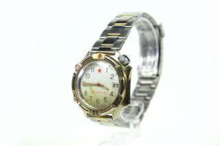 Vostok Generalskie Herren - Armbanduhr Mit Datum Mechanisch Wasserdicht Marine Uhr Bild