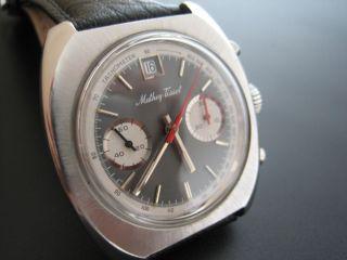 Großer Schaltrad - Chronograph Valjoux 234 - Absolutes Qualitätswerk - Stahl Bild