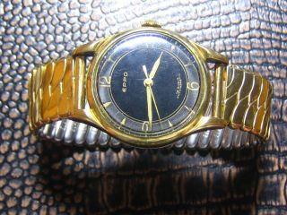 Eppo 16 Jewels Vintage Herren Armbanduhr - Mechanischer Handaufzug Bild