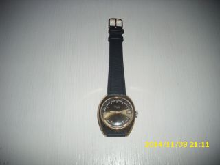 Armbanduhr Ussr Poljot Sekundenzeiger Datumanzeige Bild