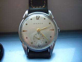 Pierce,  Kaum Getragene Vintage Uhr 3 Bild