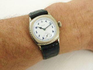 Waltham Art Deco Herren Armbanduhr Bild