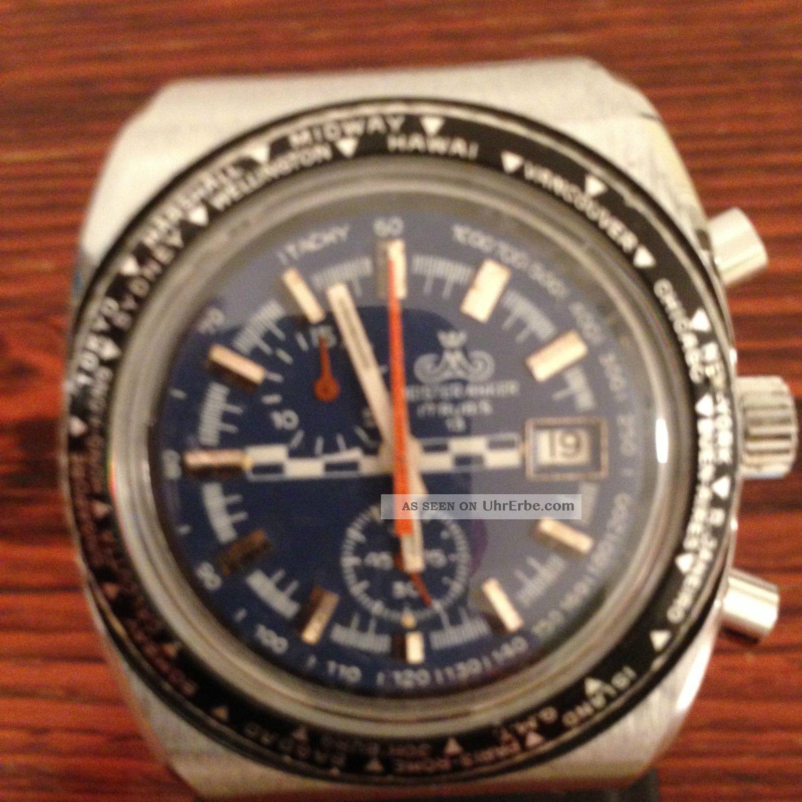 Meister Anker Chronograph 13 Sammler Uhr Armbanduhren Bild