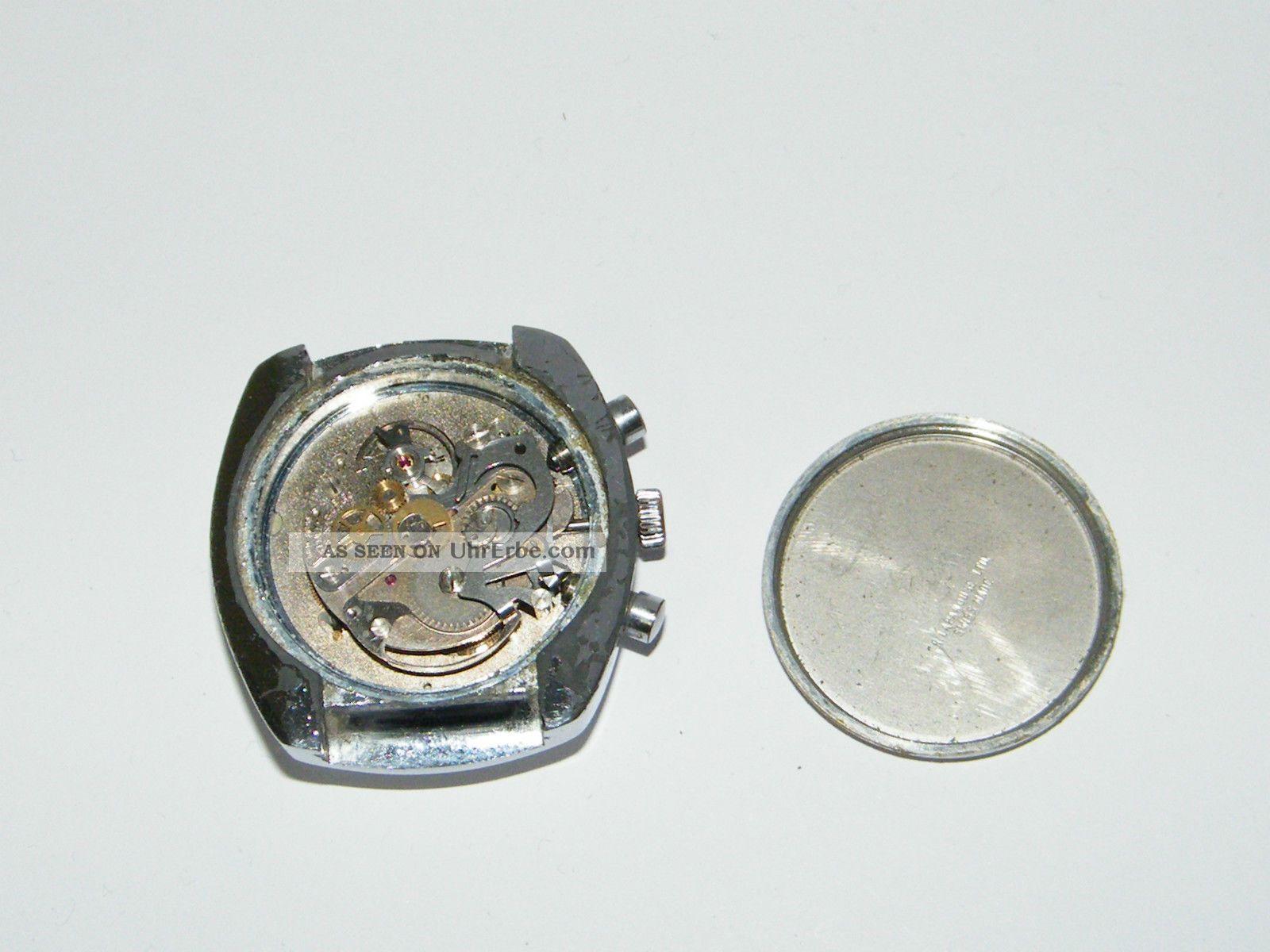 Cimier Chronograph Vintage Handaufzug, Wrist Watch, Repair