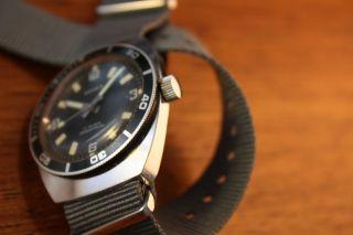 Anker Automatikuhr Taucheruhr Handaufzug Vintage Uhr Mit Natoband / Natostrap Bild