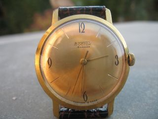 Wunderschöne Wostok - Boctok - 18 Jewels - Vintage Bild