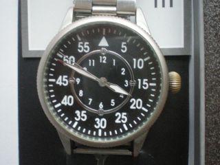 Armbanduhr Herren Hau Fliegeruhr Mechanisch Handaufzug Sammlerstück,  Zubehör Bild