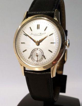 Seltene Iwc Kaliber 88,  14 Kt Gold,  Wundervoll Vp: 8900,  - Sk: 1899,  - Bild