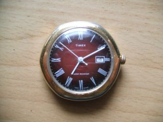 Uhr Sammlung Alte Timex Handaufzug Armbanduhr Bild