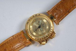 Poljot International 0762 Herren Armbanduhr Hau Transsiberische Eisenbahn Uhr Bild