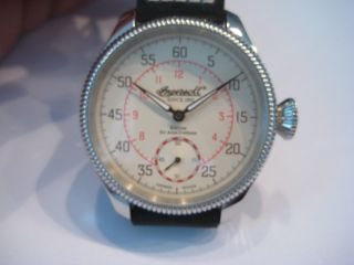 Ingersoll Sir Alan Cobham In1001cr Handaufzug Limited Edition Bild