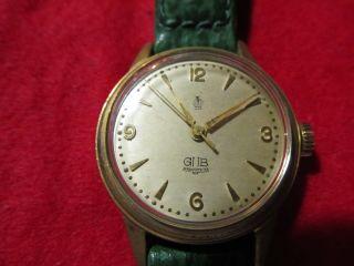 Glashütte Gub Vintage Armbanduhr Bild