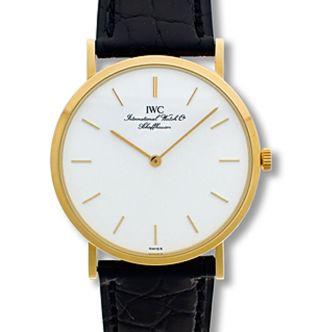 Iwc Portofino Ultraflach 18k Gold,  Handaufzug,  Ungetragen Np 5100,  - Sk 2899,  - Bild