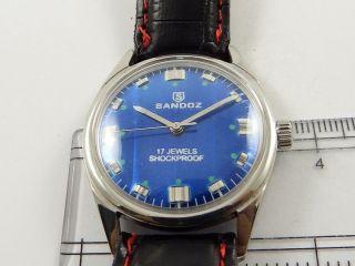 Sandoz Swiss Armbanduhr Handaufzug Mechanisch Vintage Sammleruhr 119 Bild