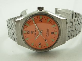 Tressa Swiss Armbanduhr Handaufzug Mechanisch Vintage Sammleruhr 180 Bild