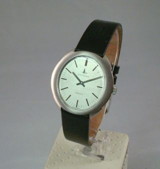 Dugena Geneve Vintage Weißgold Handaufzug Armbanduhr Mit Lb, Bild