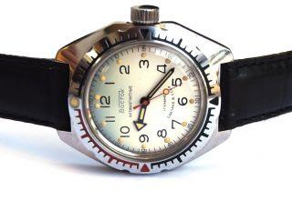 Vostok Albatros Russian Watch Diver,  Sub - 200m Ussr Bild