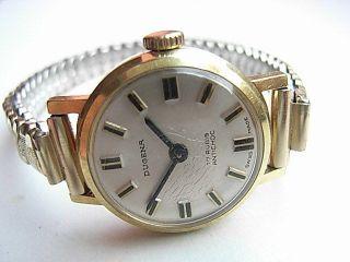 Damen Armbanduhr Dugena Swiss Handaufzug Bild