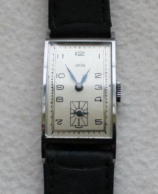Arsa Art - Deko Armbanduhr Handaufzug Mechaniches Herren Armbanduhr. Bild
